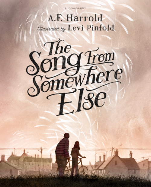 "La portada de la novela ""The song from somewhere else"""